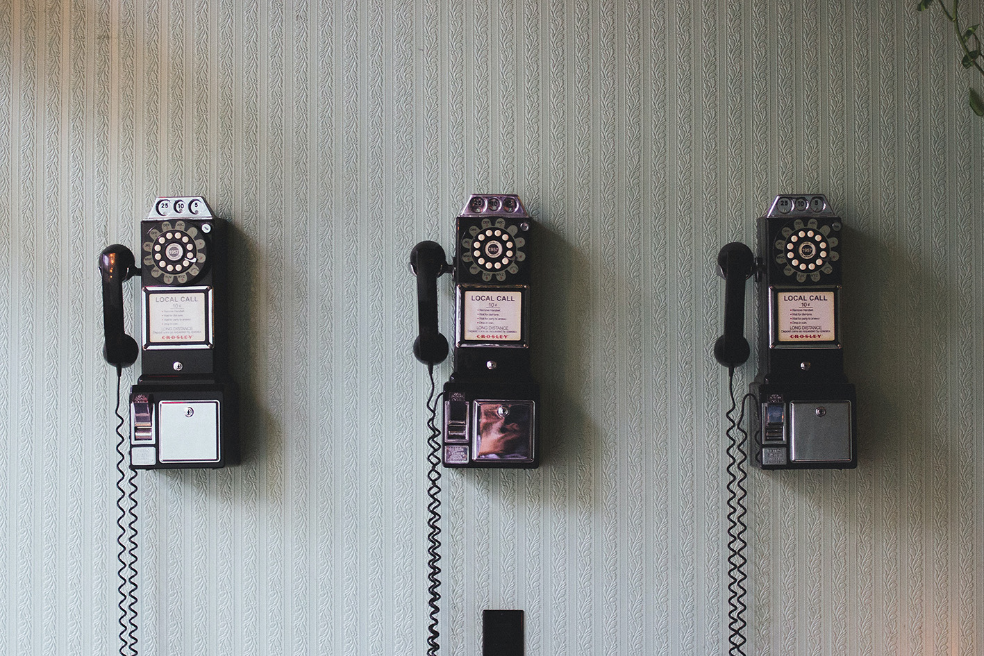 old rotary phones